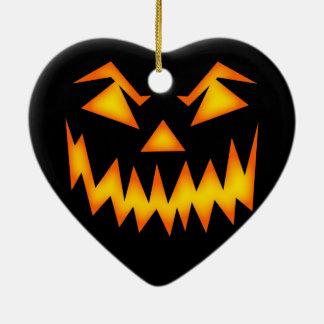Halloween Ceramic Heart Decoration