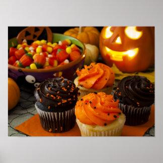Halloween Cupcakes Poster