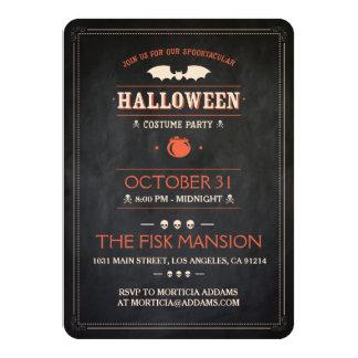 Halloween Invite: Spooktacular - Customizable 11 Cm X 16 Cm Invitation Card