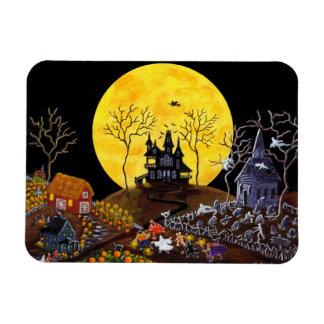 """Halloween magnet """"Keep Running"""""""
