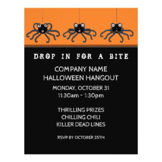 Halloween office party ideas 21.5 cm x 28 cm flyer
