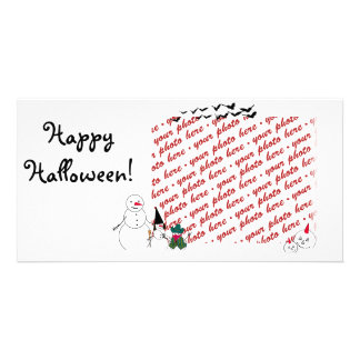 Halloween Photo Card or Photo Gift Tag