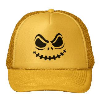 Halloween Pumpkin Evil Face Hat