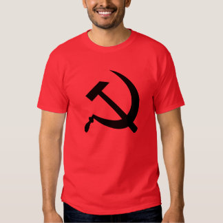 Hammer and sickle (black) men's t-shirt
