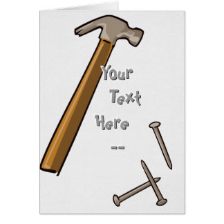 Hammer & Nails Card