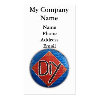Hand Painted DIY Sign Pack Of Standard Business Cards