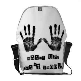 Hands Up. Don't Shoot. Messenger Bag. Messenger Bag