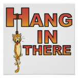 Hang In There Demotivational poster