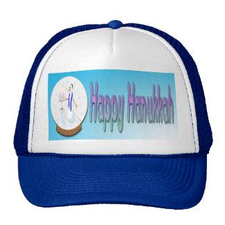 Hanukkah - Snow Globe Snowman Hat