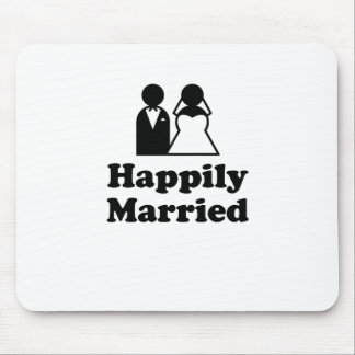 Happily Married Mouse Pad