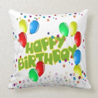 Happy Birthday Celebrations Cushion