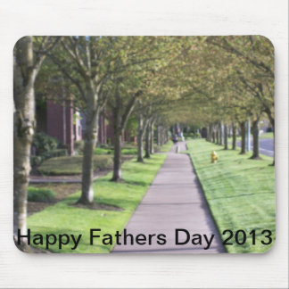happy fathers day 2013 mouse pad