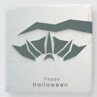 Happy Halloween Poster, Banner Or Flyer Stone Beverage Coaster