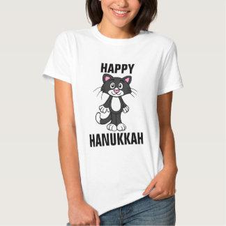 Happy Hanukkah Cat T-shirts, Chanukah Cats Shirt