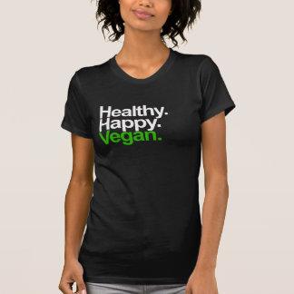 Happy. Healthy. Vegan. T-shirts