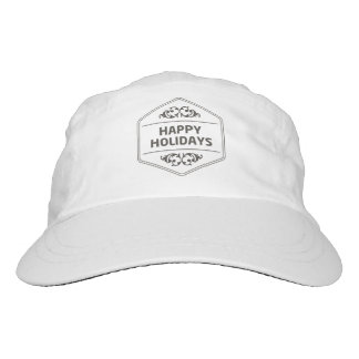 Happy Holidays Custom Background Hat