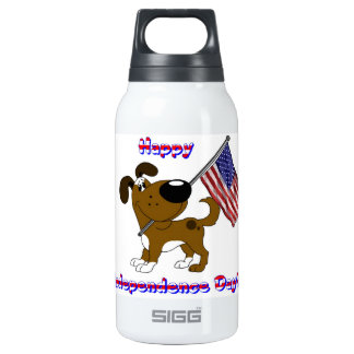 Happy Independence Day! 0.3L Insulated SIGG Thermos Water Bottle