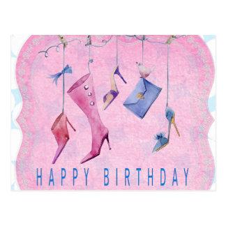 Happy Kids Custom Birthday Greeting Cards Postcard
