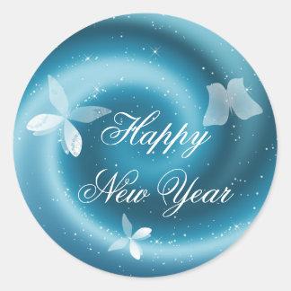 Happy New Year Customizable Sticker