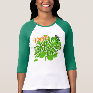 Happy Saint Patrick's Day Leprechaun T Shirts