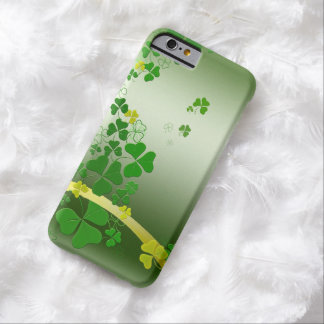 Happy Shamrock Barely There iPhone 6 Case