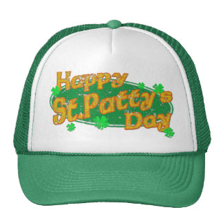 Happy St Patty's Day Cap