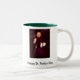 Happy St. Patty's Day Two-Tone Mug