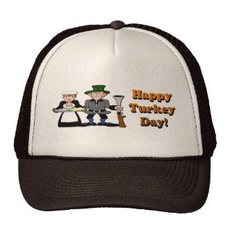 Happy Turkey Day Cap