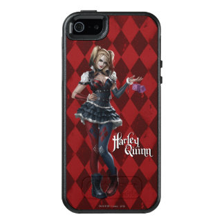 Harley Quinn With Fuzzy Dice 2 OtterBox iPhone 5/5s/SE Case