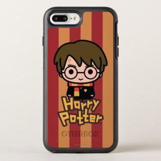 Harry Potter Cartoon Character Art OtterBox Symmetry iPhone 7 Plus Case