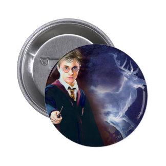 Harry Potter's Stag Patronus 6 Cm Round Badge