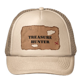 Hat: Treasure Hunter on an Old Map Cap