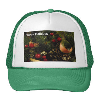 Hat With Birds