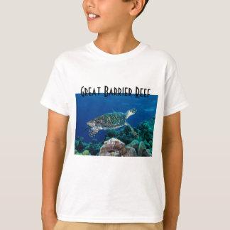 Hawksbill Sea Turtle Great Barrier Reef Coral Sea T Shirts