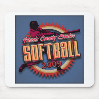 HCSSL Softball League Products Mouse Pad