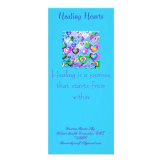 Healing Hearts Rack Card
