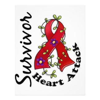Heart Attack Survivor 15 21.5 Cm X 28 Cm Flyer