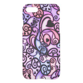 Heart Beats Singing iPhone 7 Case