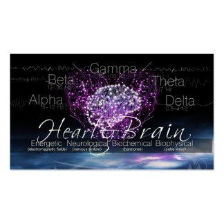 Heart & Brain Communication Pack Of Standard Business Cards