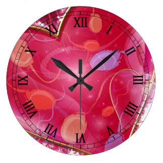 heart full of love clocks