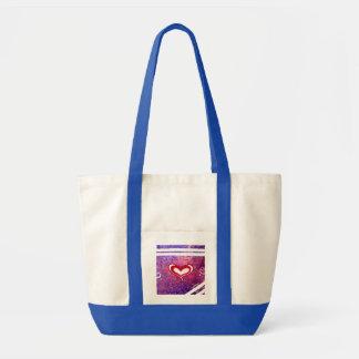 Heart Impulse Tote Bag