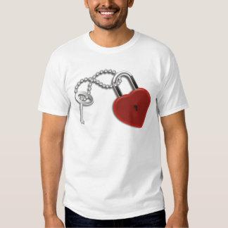 Heart Key And Lock Tees