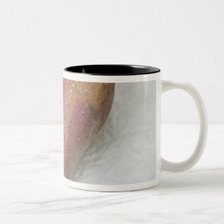 Heart-shaped Francine potato Two-Tone Mug