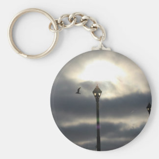 Heaven's  Door Basic Round Button Key Ring