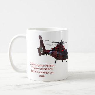 Helicopter Pilots: Flying nowhere Basic White Mug