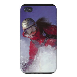 Hell Bent for Powder Case Case For The iPhone 4