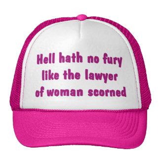 Hell Hath No Fury Lawyer Hat