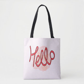 Hello, You! All-Over-Print Tote Bag