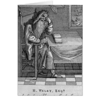 Henry Welby, 1794 Greeting Card