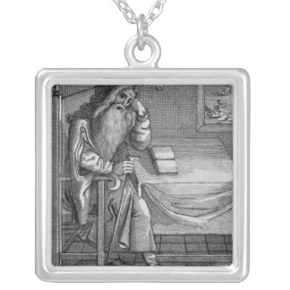 Henry Welby, 1794 Square Pendant Necklace